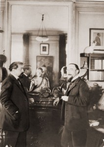 Debussy with Satie as guest
