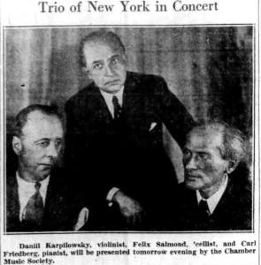 Trio of NY