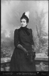 Manya's mother Vera in Paris