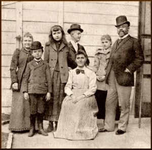 Dvořák and his family in New York, 1893