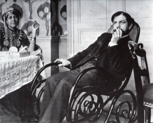 Debussy Zohra den Brahim ph. Louÿs